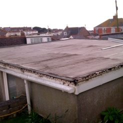 Before - Felt Roof