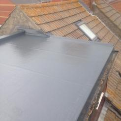 After - GRP Fibreglass Roof