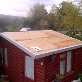 Before - Shed Roof
