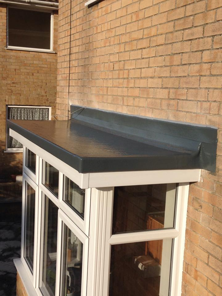 Outhouses Dormas Amp Porches Sjh Fibreglass Flat Roofing