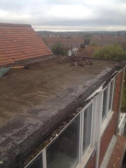 Before - Felt Roof