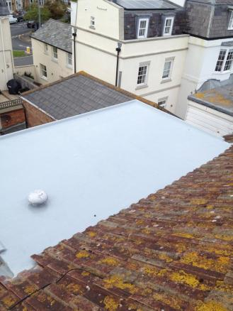 Extension - After with GRP Fibre Glass