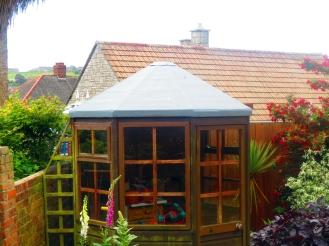 GRP Fibre Glass Summer House