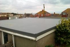 After - GRP Fibreglass Garage Roof