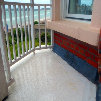 GRP Fibre Glass Balcony Flooring