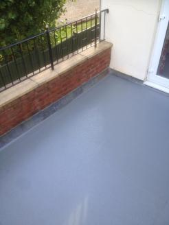 GRP Fibreglass Balcony Floor