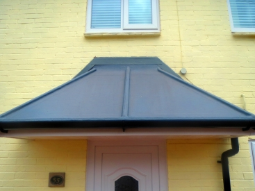 GRP Fibre Glass Porch