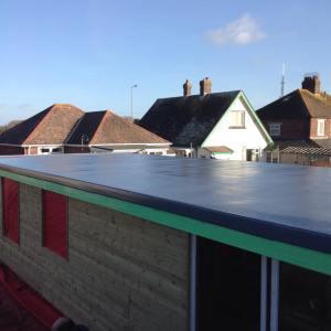 Fibreglass, flat roof, SJH, roofing, GRP