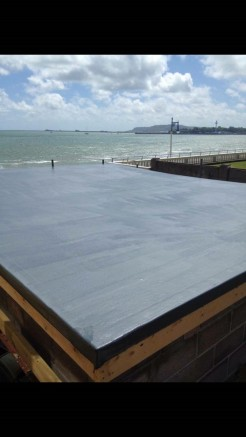 GRP Fibre Glass Flat Roof